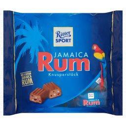 Jamaica Rum Czekolada pełna mleczna nadziewana  (12 ...