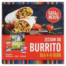 Zestaw do Burrito dla 4-6 osób