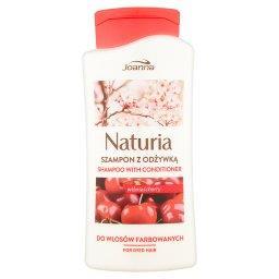 Naturia Szampon z odżywką wiśnia