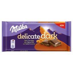 Delicate Dark Czekolada z mleka alpejskiego Salted C...