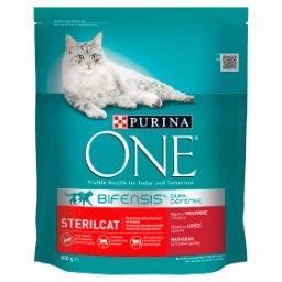 Sterilcat Pełnoporcjowa karma dla dorosłych kotów bo...