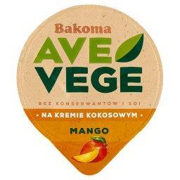 Ave Vege Deser na kremie kokosowym z mango