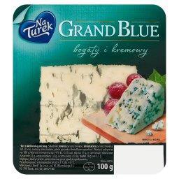 Grand Blue Ser z niebieską pleśnią bogaty i kremowy