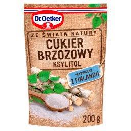 Ze świata natury Cukier brzozowy ksylitol