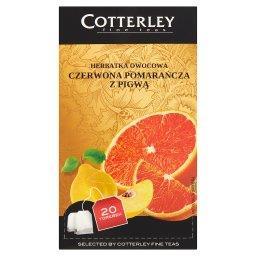 Herbatka owocowa czerwona pomarańcza z pigwą 20 tore...