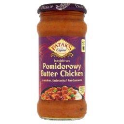 Indyjski sos pomidorowy Butter Chicken z masłem śmie...