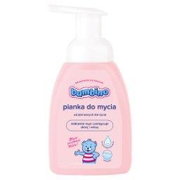 Pianka do mycia dla niemowląt