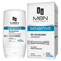 Men Sensitive Żel po goleniu chłodzący dla skóry bar...