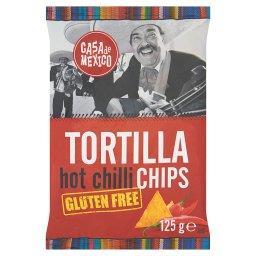Tortilla hot chilli chips Bezglutenowe chipsy kukurydziane