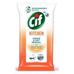 Kitchen Chusteczki czyszczące do kuchni 36 sztuk
