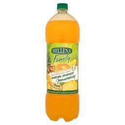Family Napój niegazowany o smaku mango ananasa i pomarańczy 1,75 l