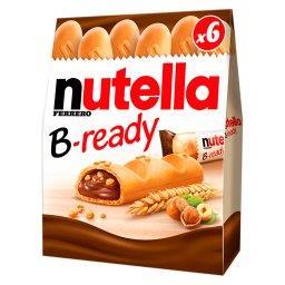 B-ready Wafelek z orzechami laskowymi i kakao oraz c...