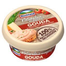 Ser kremowy Gouda z pomidorami i szczypiorkiem