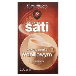 Kawa palona mielona o smaku waniliowym