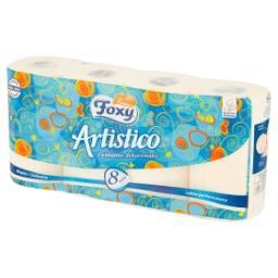 Artistico Papier toaletowy delikatnie dekorowany brz...