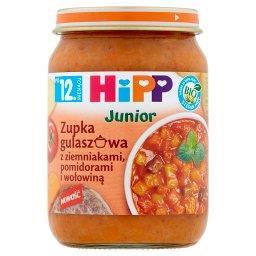 BIO Junior Zupka gulaszowa z ziemniakami pomidorami ...