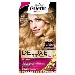 Deluxe Oil-Care Color Farba do włosów Złoty świetlisty miodowy blond 345