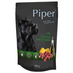 Mokra karma dla psa Piper Animals z dziczyzną i dynią 500 g