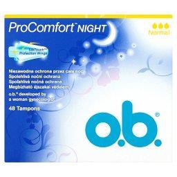 ProComfort Night Normal Tampony 48 sztuk