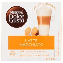 Dolce Gusto Latte Macchiato Kawa w kapsułkach  (8 x 17,4 g i 8 x 5,5 g)