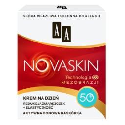 Novaskin 50+ krem na dzień redukcja zmarszczek + ela...