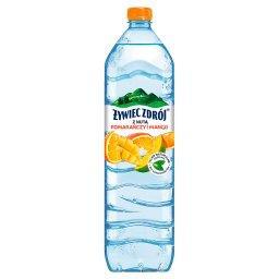 Napój niegazowany z nutą pomarańczy i mango