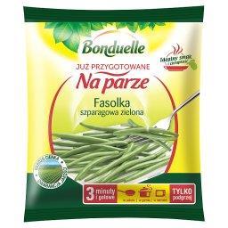 Już przygotowane na parze Fasolka szparagowa zielona