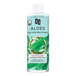 Aloes 100% aloe vera extract płyn micelarny łagodząc...