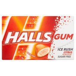 Gum Ice Rush Bezcukrowa guma do żucia o smaku mandar...
