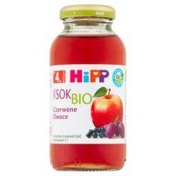 BIO Sok 100% czerwone owoce po 4. miesiącu