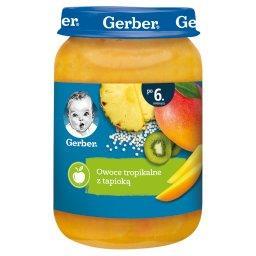 Owoce tropikalne z tapioką dla niemowląt po 6. miesi...