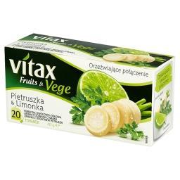 Fruits & Vege Pietruszka & Limonka Herbatka owocowo-ziołowa 40 g (20 torebek)