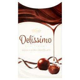 Delissimo Praliny z czekolady nadziewane kremem kakaowym