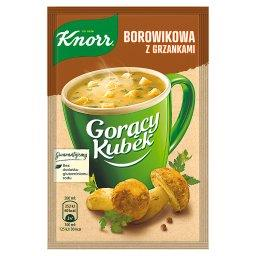 Gorący Kubek Borowikowa z grzankami