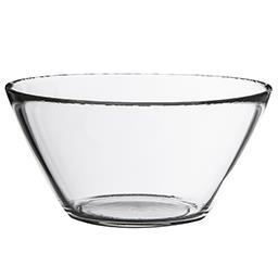 Salaterka szklana okrągła Basic 13 cm