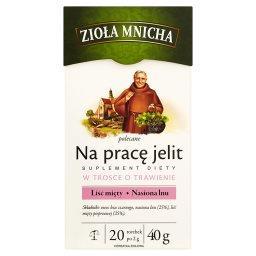 Zioła Mnicha Na pracę jelit Suplement diety Herbatka...