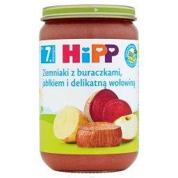 BIO Ziemniaki z buraczkami jabłkiem i delikatną woło...