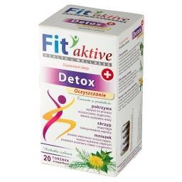 Fit aktive Detox Suplement diety herbatka ziołowa 40...