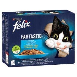 Fantastic Karma dla kotów rybne smaki w galaretce 1,02 kg (12 x )