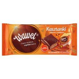 Kasztanki kakaowe z wafelkami Czekolada nadziewana 1...