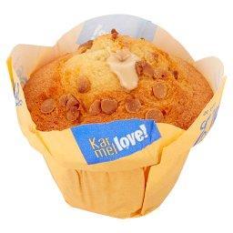 Karmellove! Muffin nadziewany kremem karmelowym