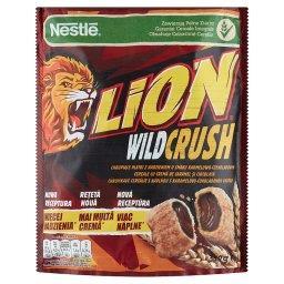 Lion WildCrush Chrupiące płatki z nadzieniem o smaki...