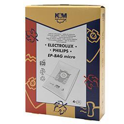 Worki do odkurzaczy EP BAG MICRO Philips / Electrolu...