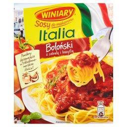 Sosy do makaronu Italia Sos boloński z cebulą i bazy...