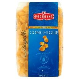 Smak kuchni śródziemnomorskiej Conchiglie Makaron Mu...