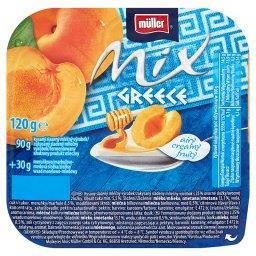 Mix Greece Słodzony produkt mleczny z wsadem morelowo-miodowym