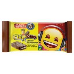 Ciastko biszkoptowe w polewie kakaowej z nadzieniem ...