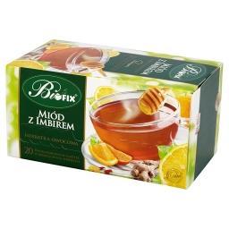 Premium miód z imbirem Herbatka owocowa 40 g (20 sas...