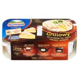 Grillowy ser pleśniowy Camembert naturalny i sos żurawinowy  (2 x 100 g + 65 g)