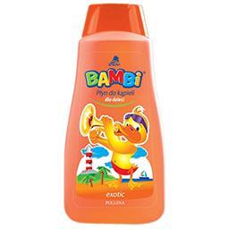 Płyn do kąpieli dla dzieci bambi exotic 500ml